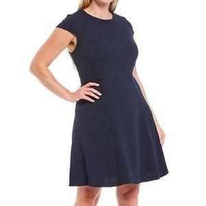 Jessica Howard Cap Sleeve Fit & Flare Dress 24W